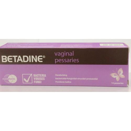 تحاميل بيتادين, Betadinepessaries