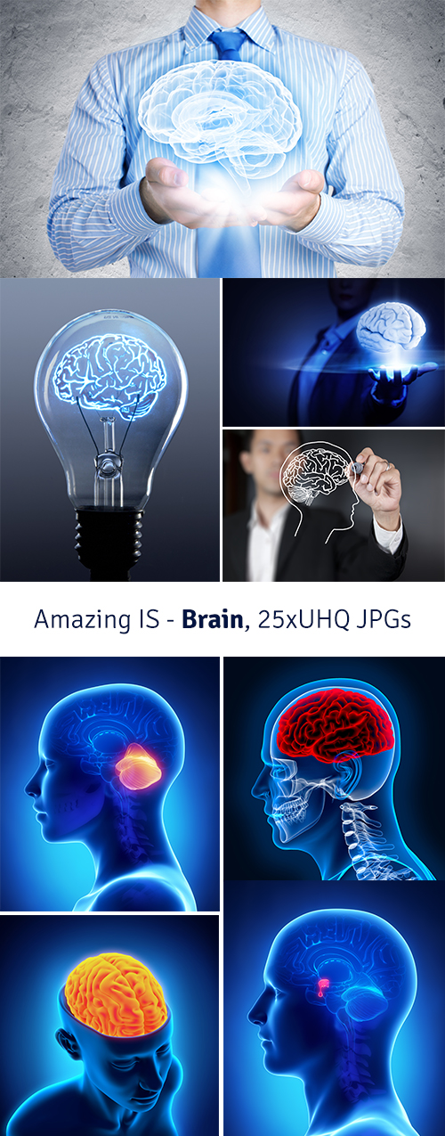 Amazing IS - Brain, 25xUHQ JPGs