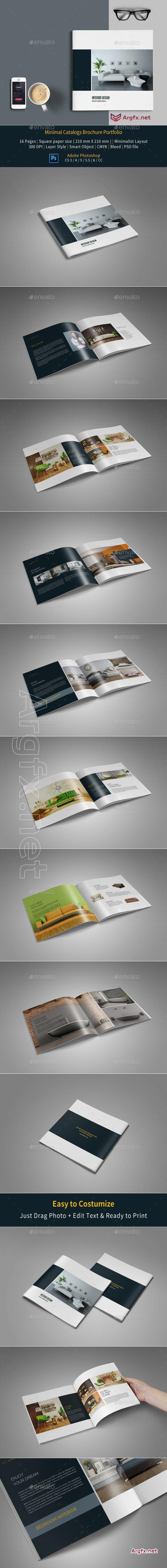 Portfolio Brochure Template 18483528